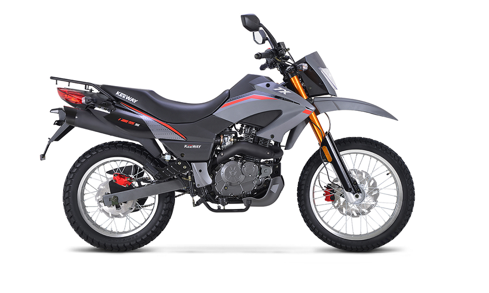 TX125 Enduro, Brand new bike