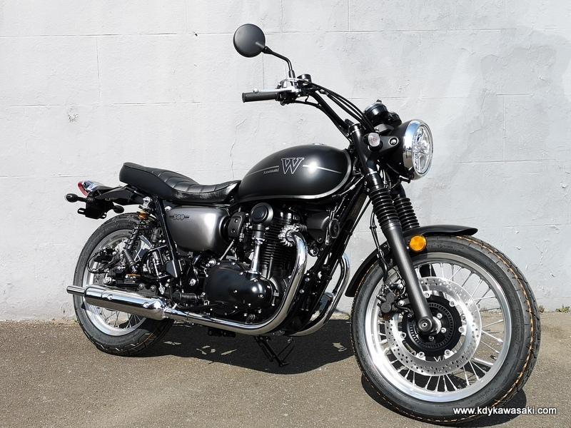 W800, Brand new bike