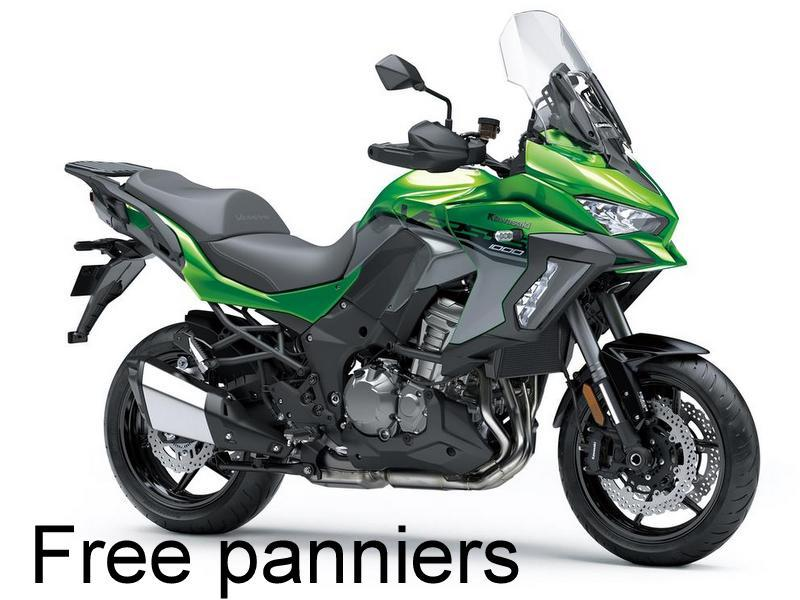 Versys 1000 SE- Free Panniers