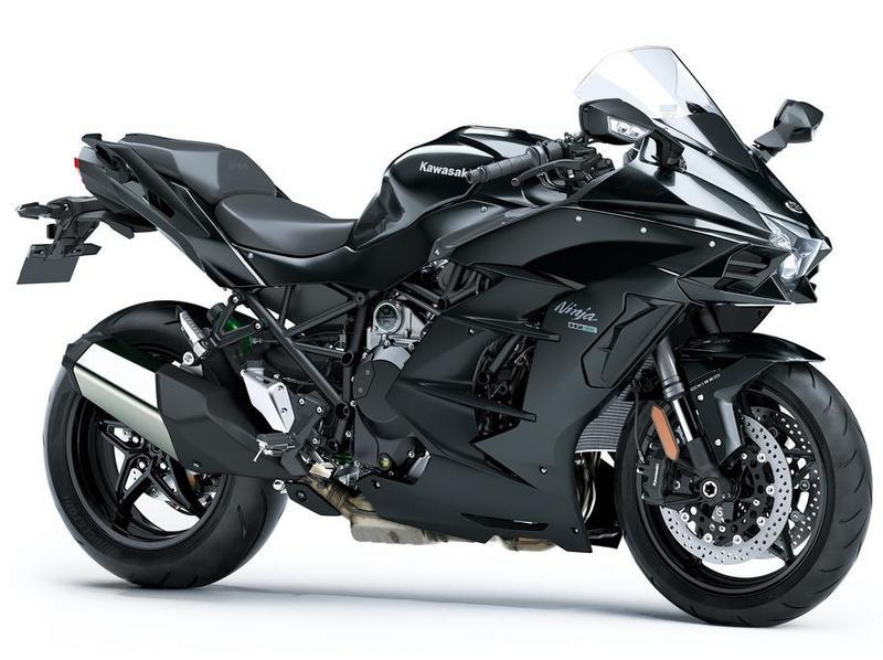 Ninja H2 SX 1 bike remaining