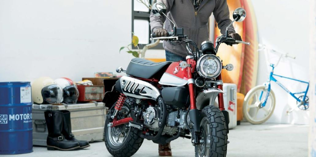 How to choose your first motorbike